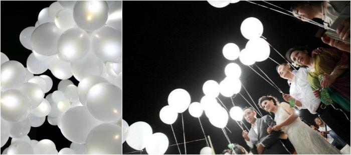 Запуск светодиодных шаров