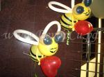 Пчелы из шариков