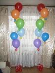 """Букет из шаров """"все цвета радуги"""""""