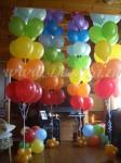 Большие букеты из шаров
