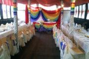Радужная свадьба, оформление