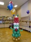 Веселая елочка из шаров