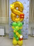 Цифра 8 на вазоне