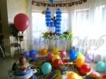 комната в шарах