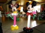 """Микки и Миссис Маус на """"ножке"""""""