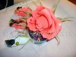 Мини-букет из роз