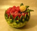 Блюдо из арбуза