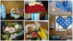 Цветы, воздушные шары на выписку