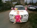 Украшение шарами авто