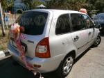 Украшение машины на выписку из роддома