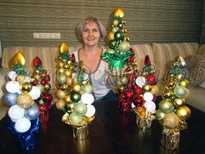 Интересное и необычное оформление новогоднего праздника