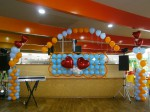 Украшение шарами молл ПАРК ХАУС 20 июня
