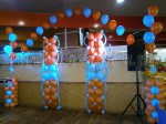 Украшение шарами молл ПАРК ХАУС 18 июля