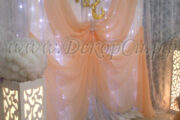 Новинка: ажурные стойки с подсветкой для свадебного торжества!
