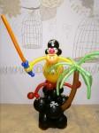 Пират из шаров