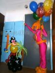 Доставка фигуры из шаров
