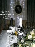 Свадебное шампанское и фужеры