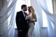 Свадьба в черно-белых тонах