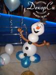 снеговик Олаф из шаров