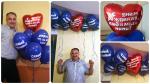Воздушные шары с надписью