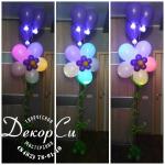 Цветок со светодиодами