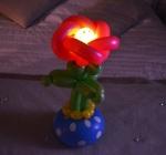 Цветок из шаров светошарики